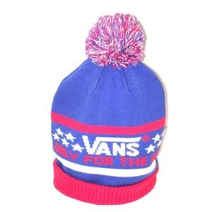 f264c6859ac291 Vans Accessories - 🧢VANS red white blue Only for the Elite knit hat
